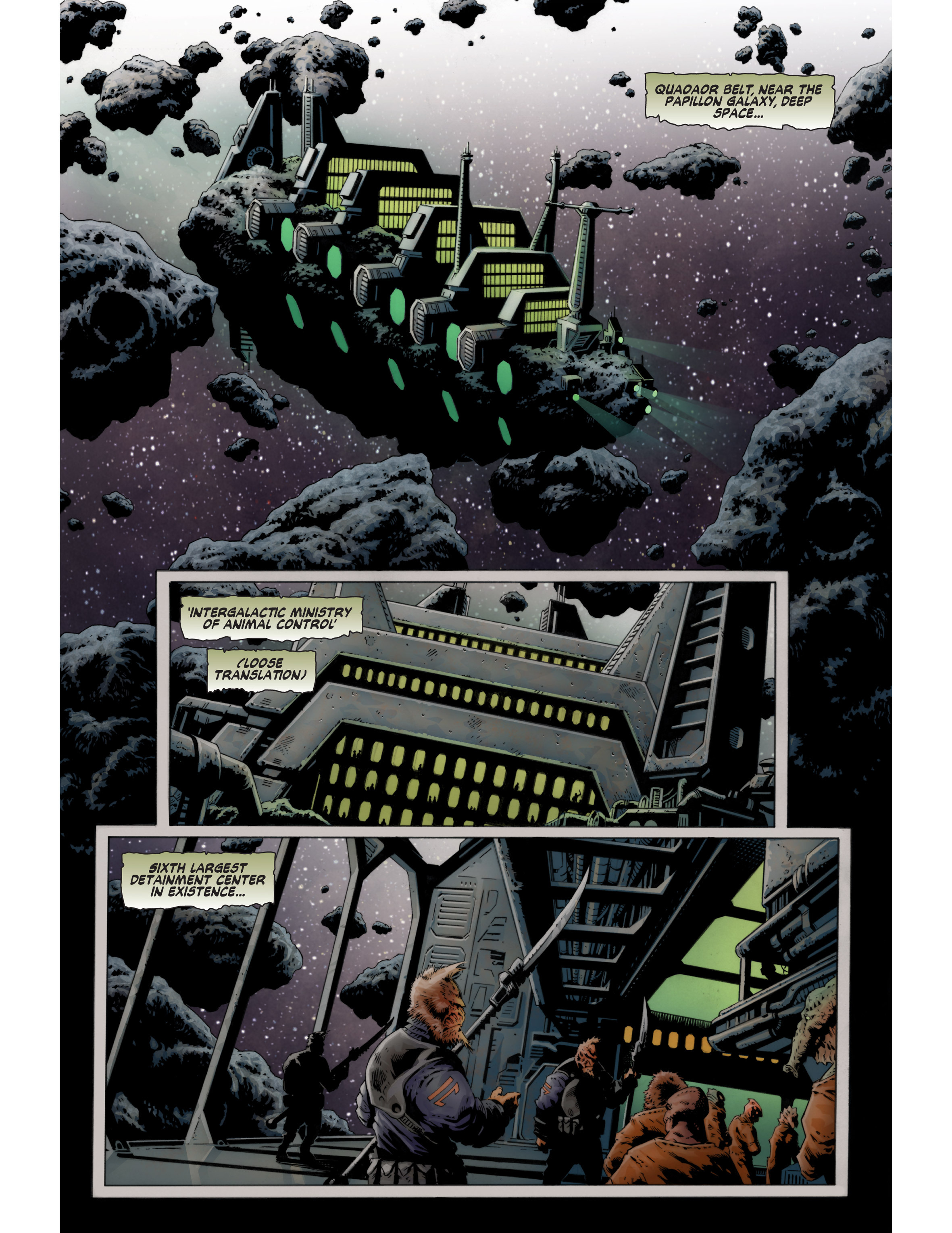 Read online Bad Planet comic -  Issue # TPB - 43