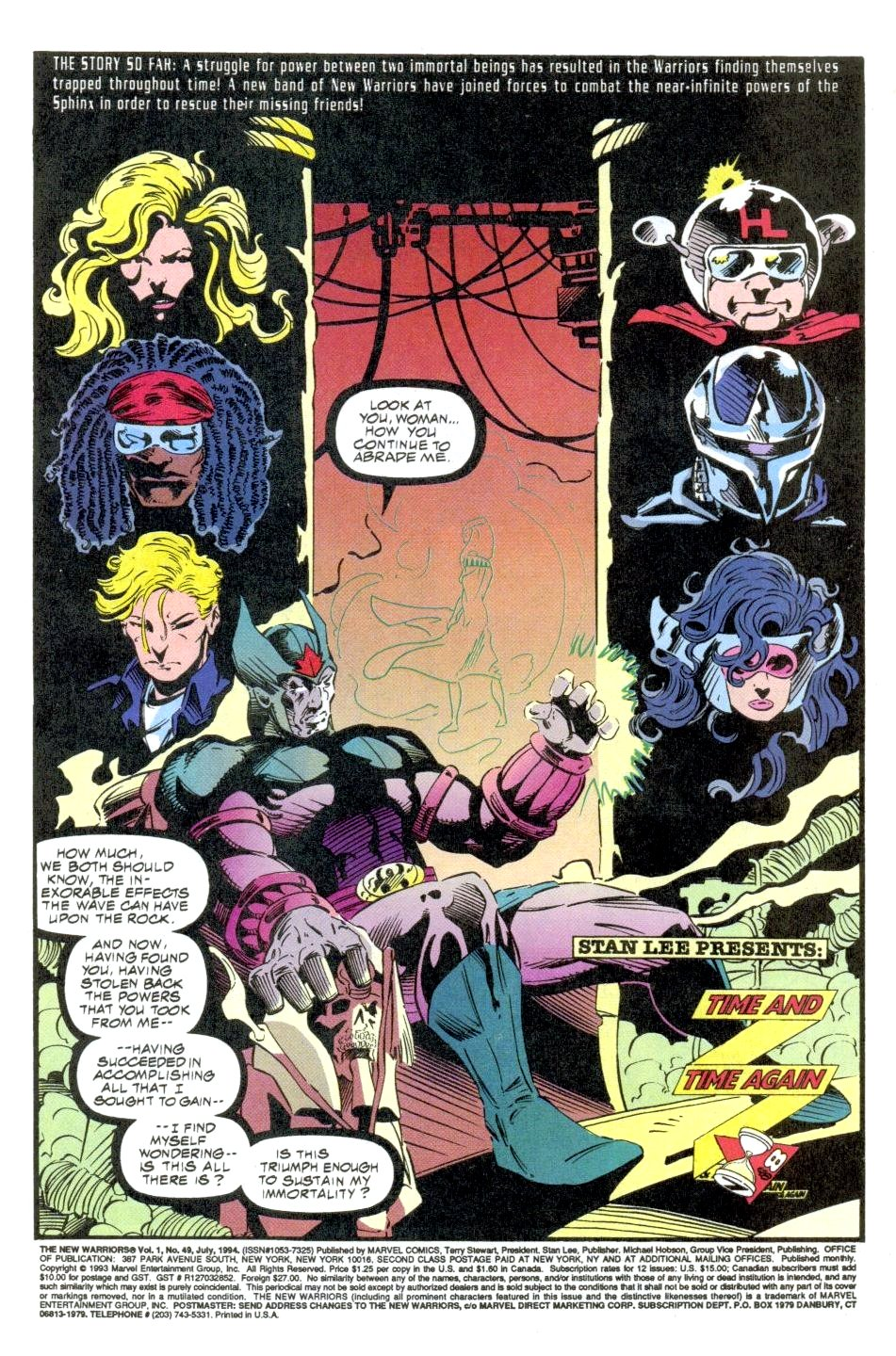 The New Warriors Issue #49 #53 - English 2