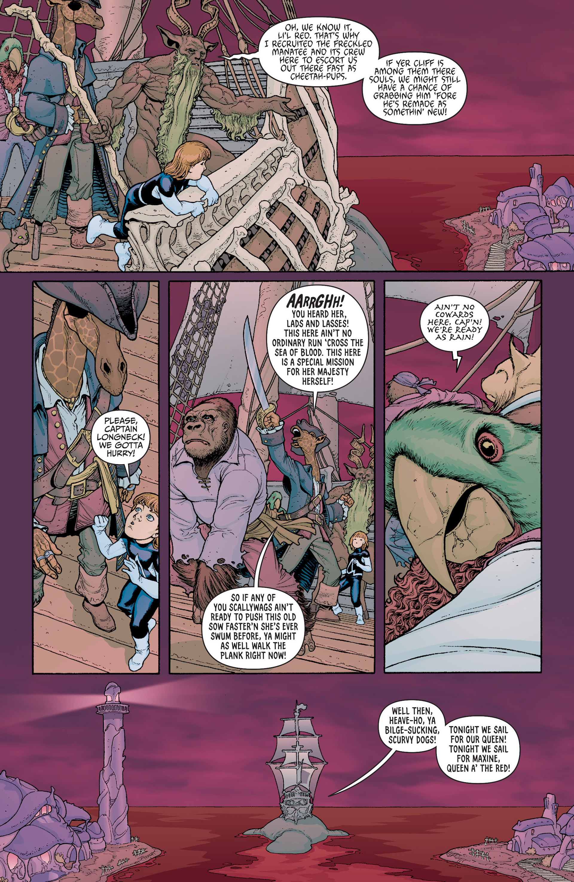 Read online Animal Man (2011) comic -  Issue #23 - 7