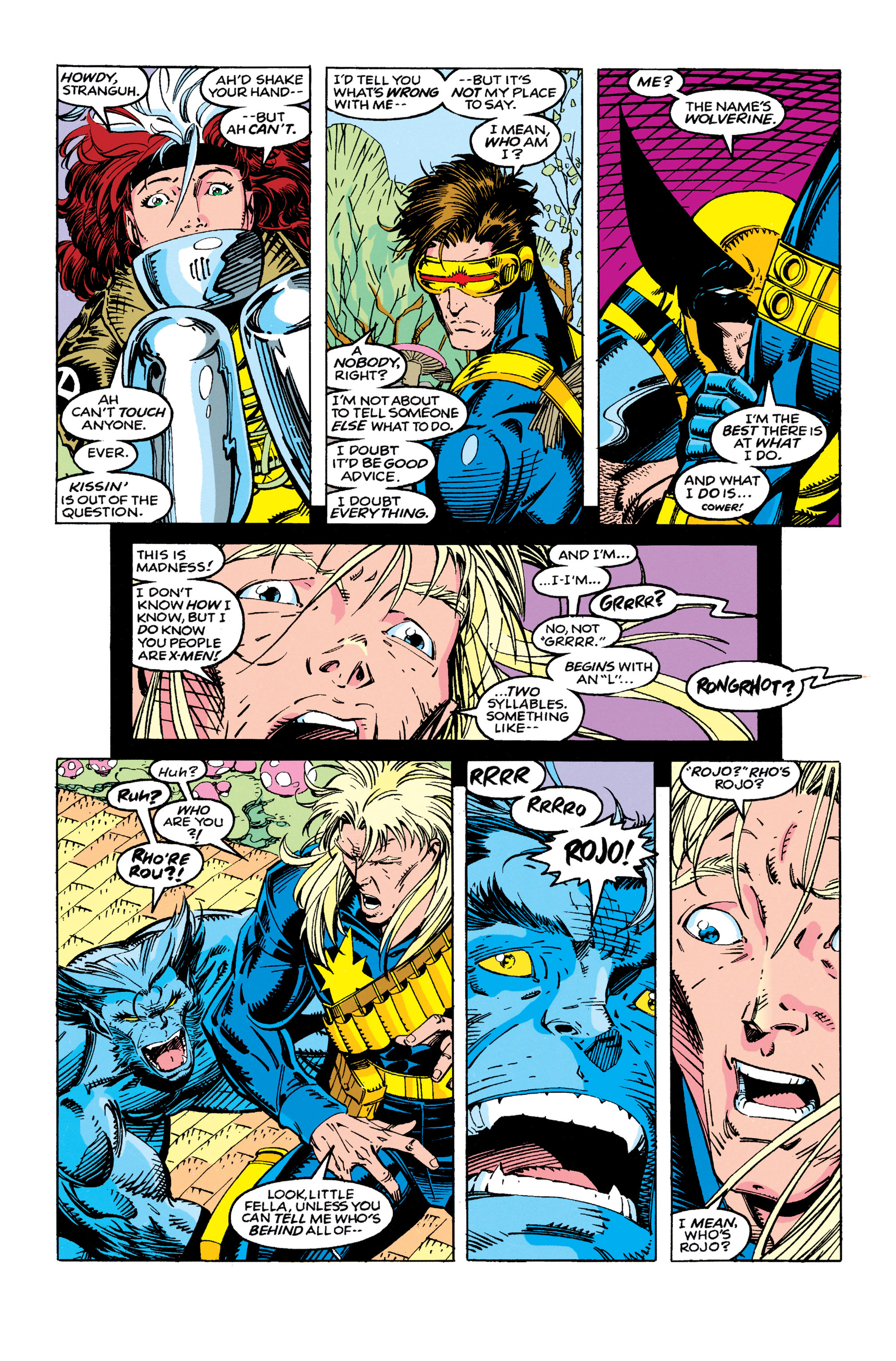 X-Men (1991) 10 Page 3