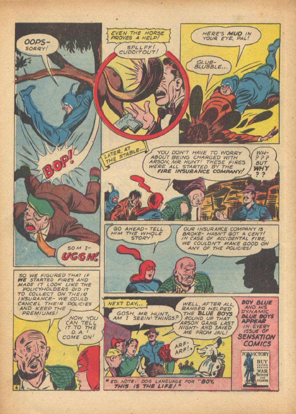 Read online Sensation (Mystery) Comics comic -  Issue #24 - 30