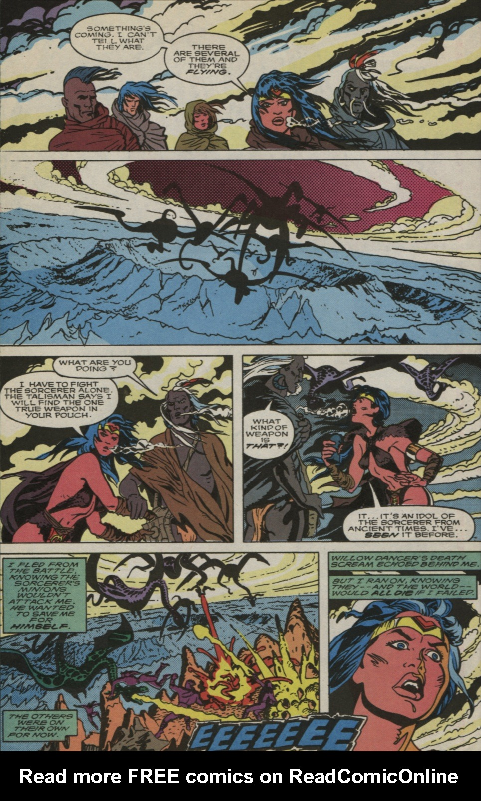 Read online Alpha Flight (1983) comic -  Issue #83 - 21