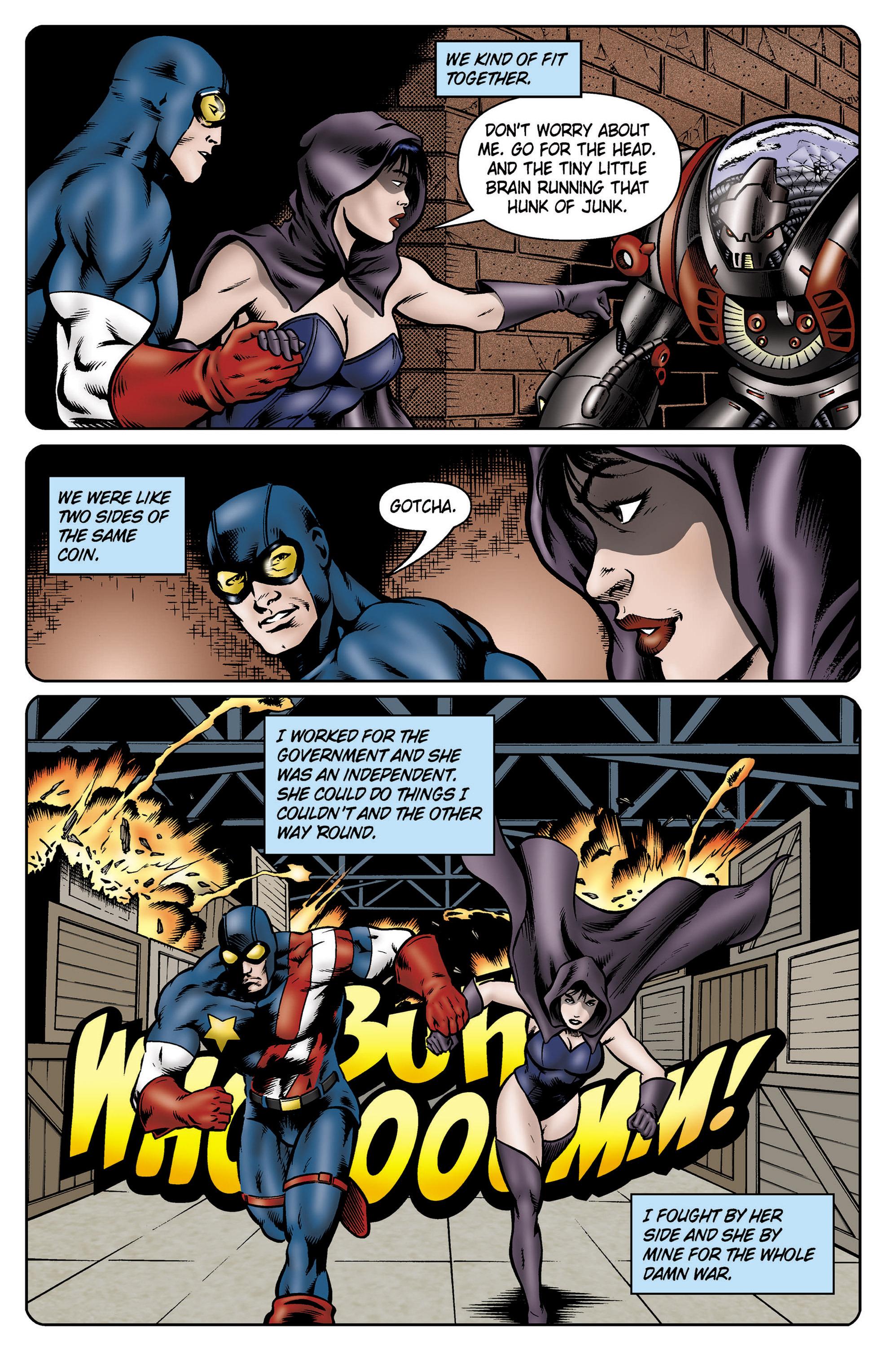 Read online SideChicks comic -  Issue #5 - 11