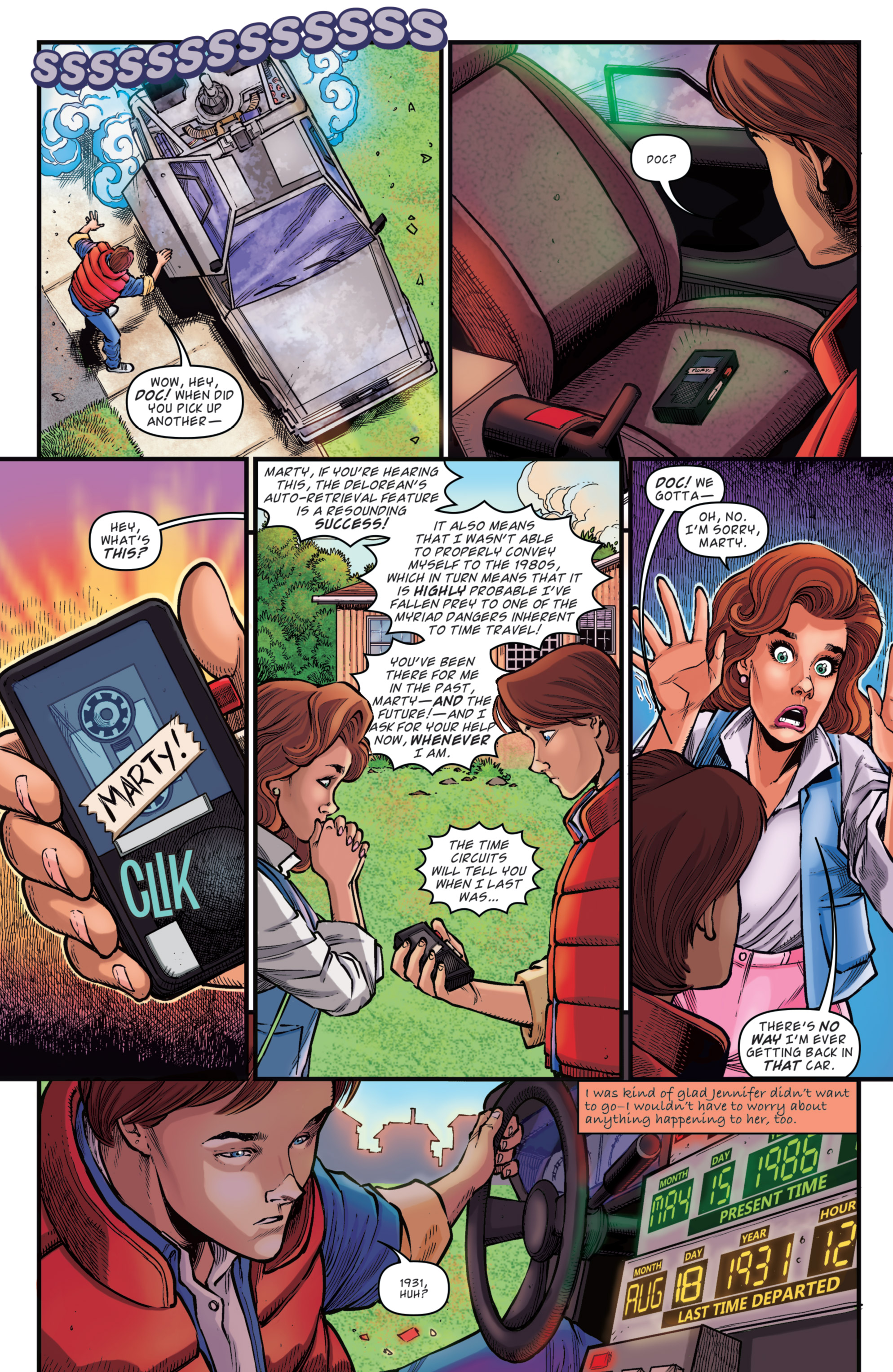 Read online Back to the Future: Biff to the Future comic -  Issue #5 - 27