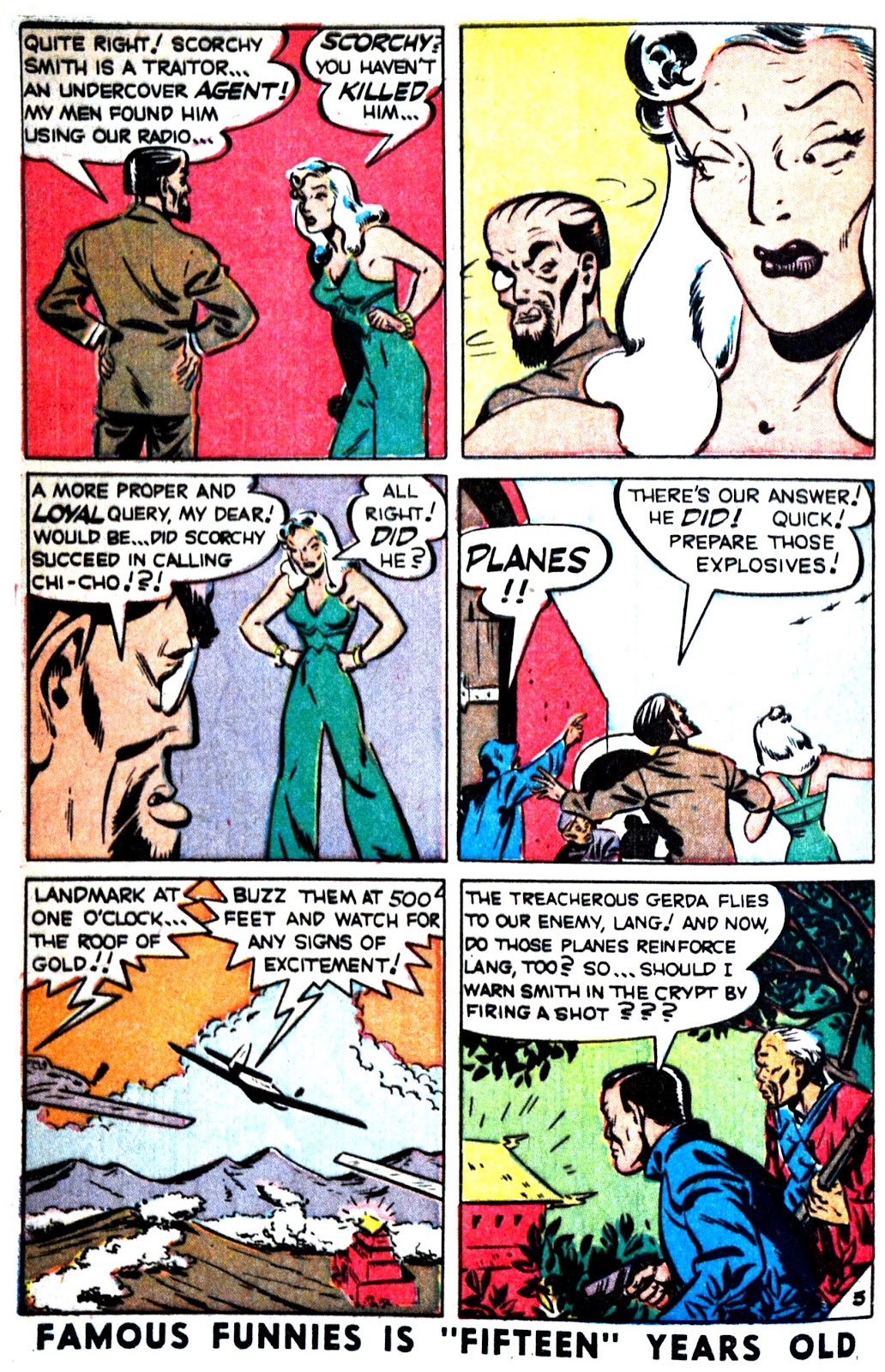 Read online Famous Funnies comic -  Issue #180 - 39