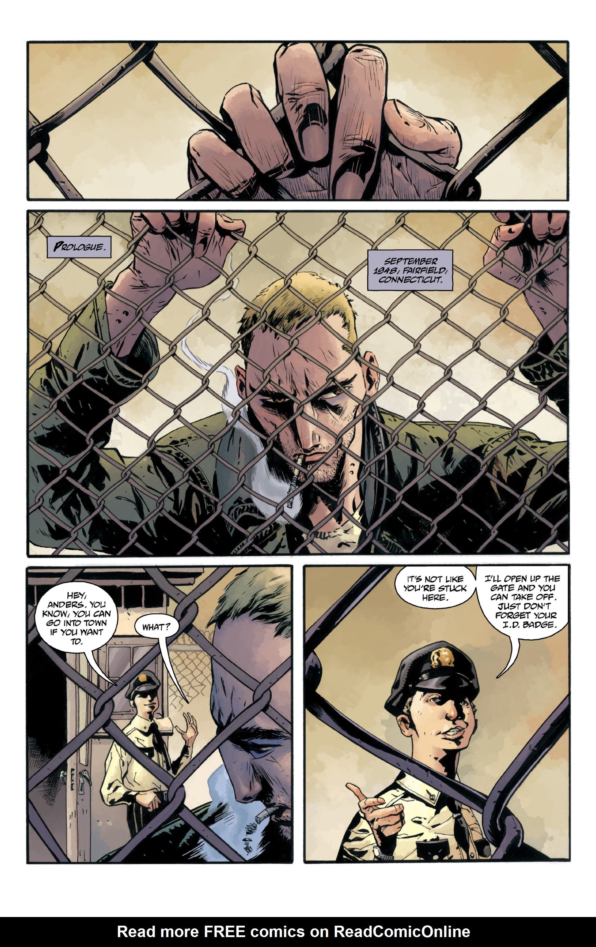 Read online B.P.R.D.: 1948 comic -  Issue # TPB - 9