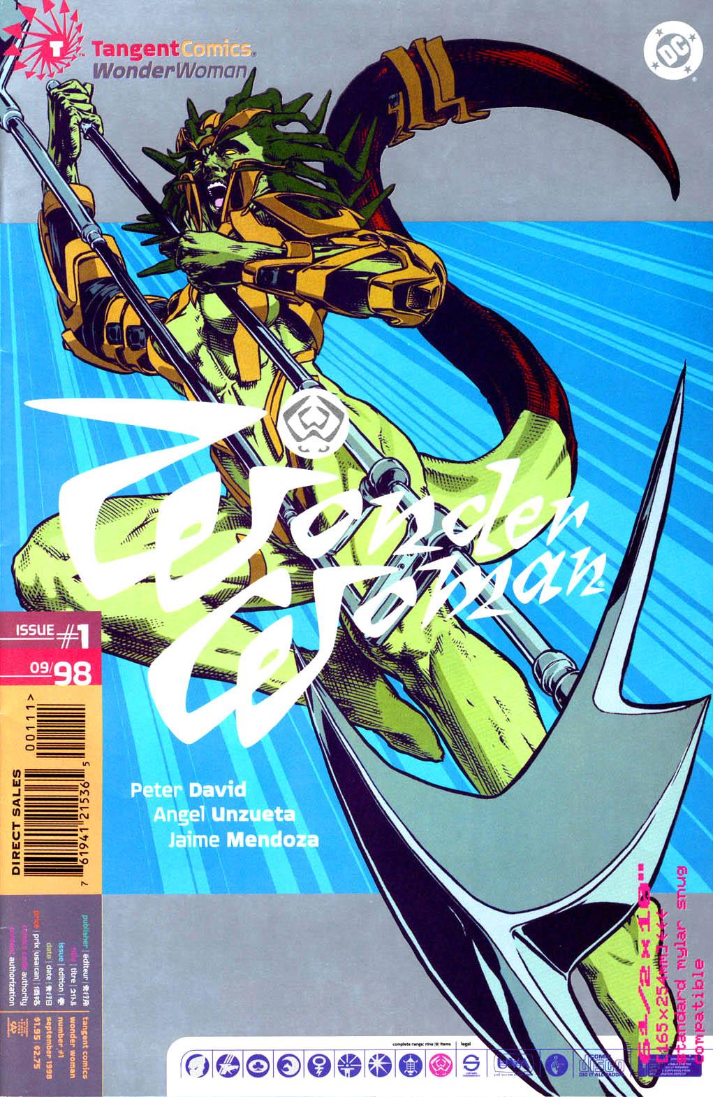 Read online Tangent Comics/ Wonder Woman comic -  Issue # Full - 1