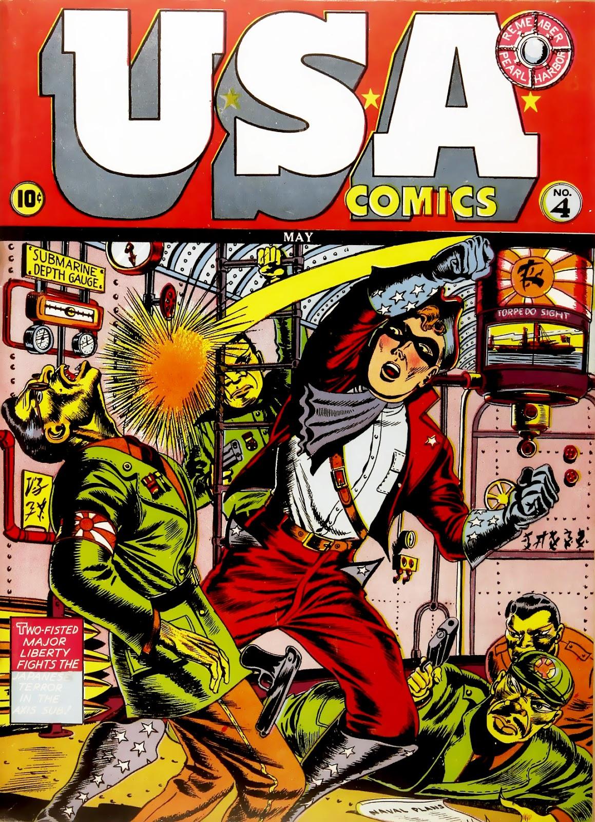 USA Comics issue 4 - Page 1