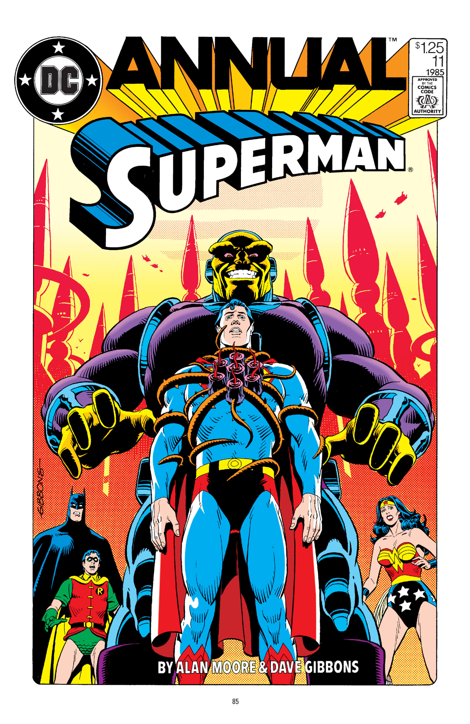 Read online Superman: Whatever Happened to the Man of Tomorrow? comic -  Issue # TPB - 84