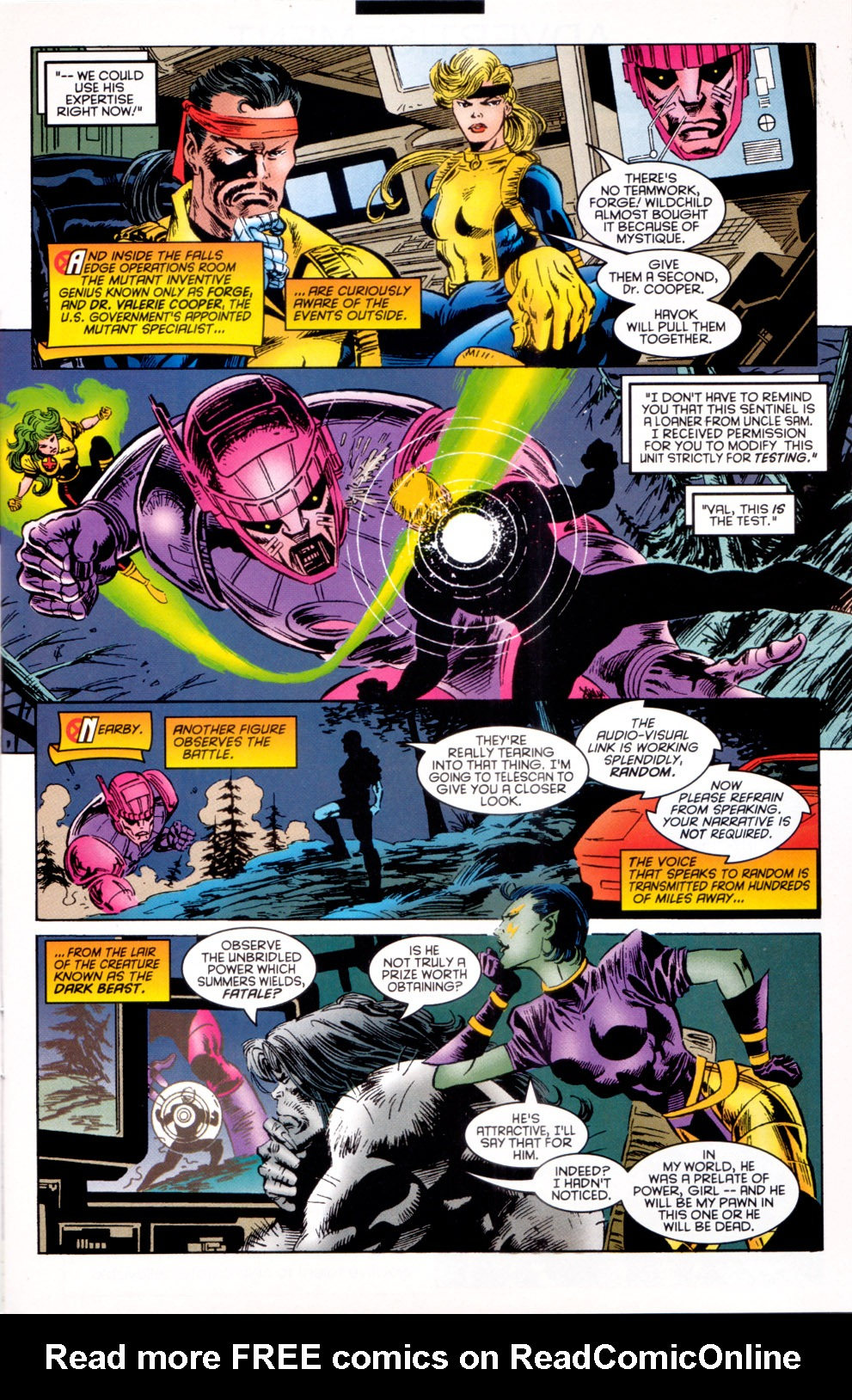 Read online X-Factor (1986) comic -  Issue #117 - 7
