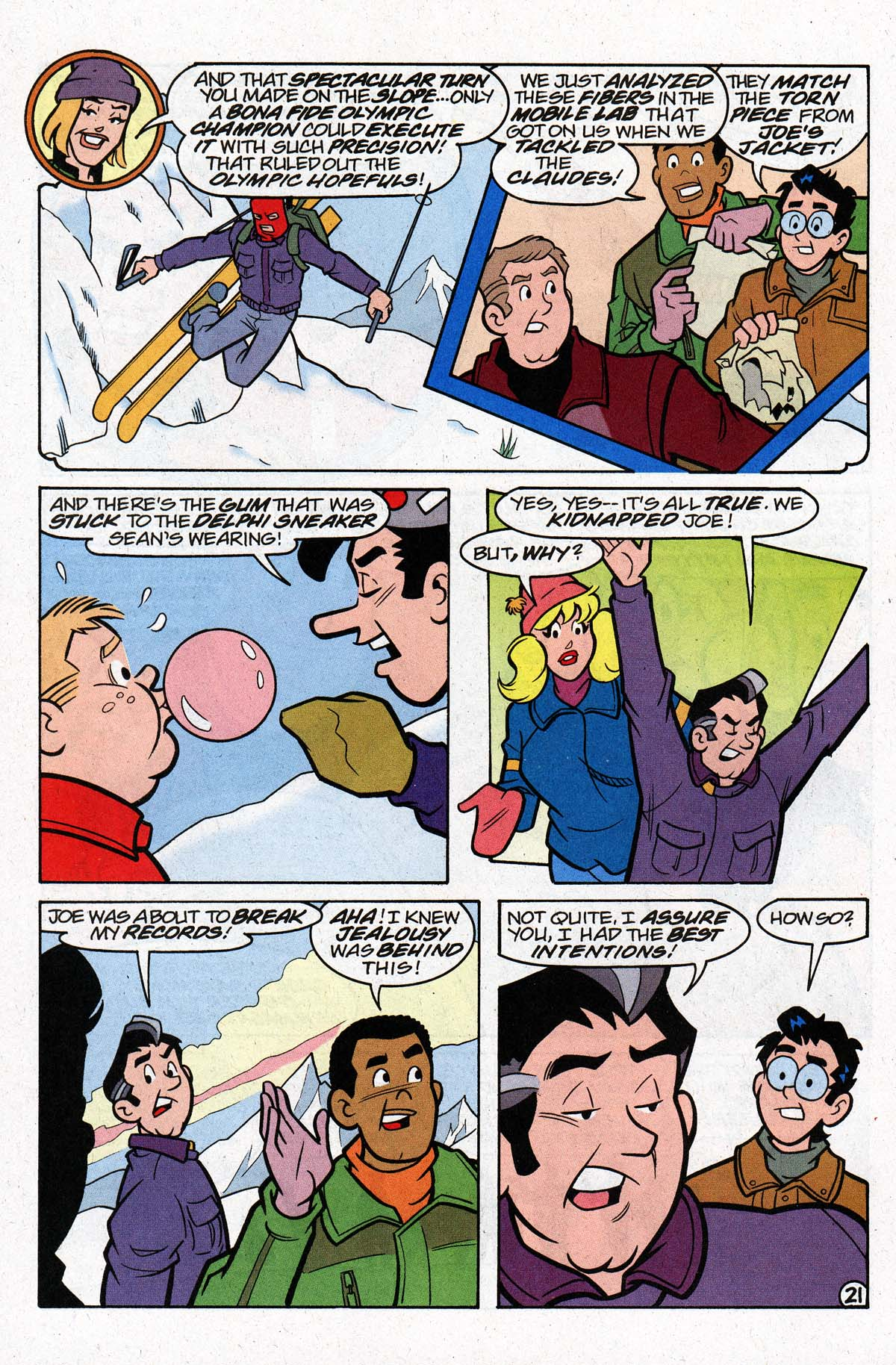 Read online Archie's Weird Mysteries comic -  Issue #26 - 27