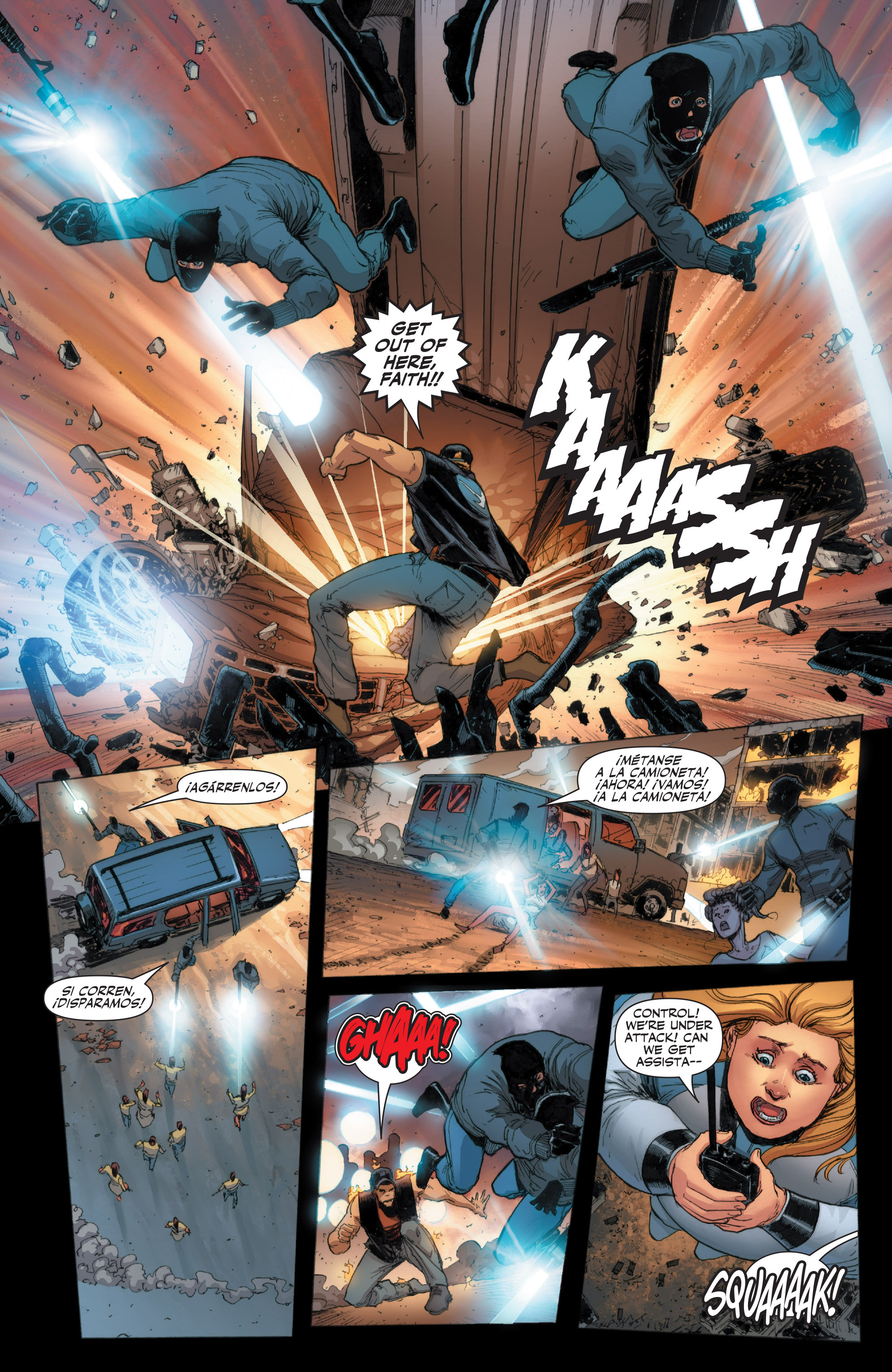 Read online Armor Hunters: Harbinger comic -  Issue # TPB - 19