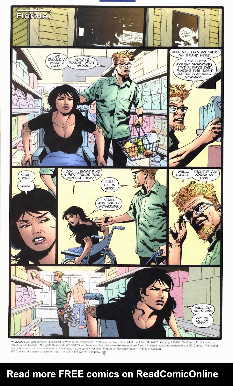 Wildcats (1999) Issue #26 #27 - English 2