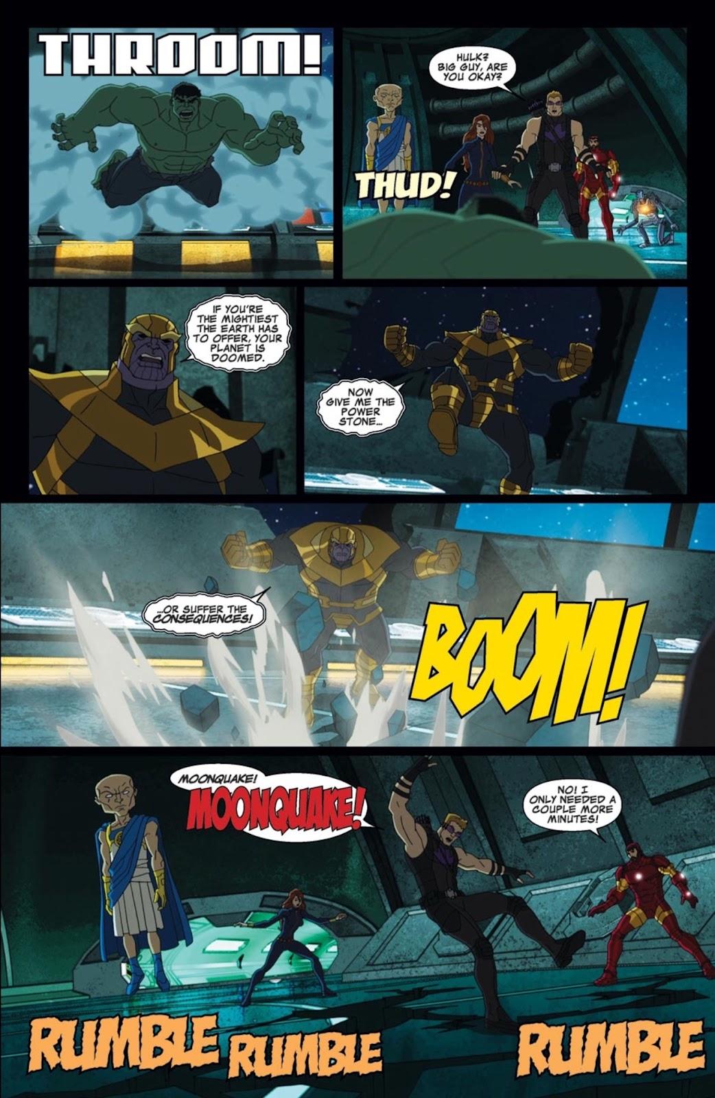 Read online Marvel Universe Avengers Assemble Season 2 comic -  Issue #2 - 16