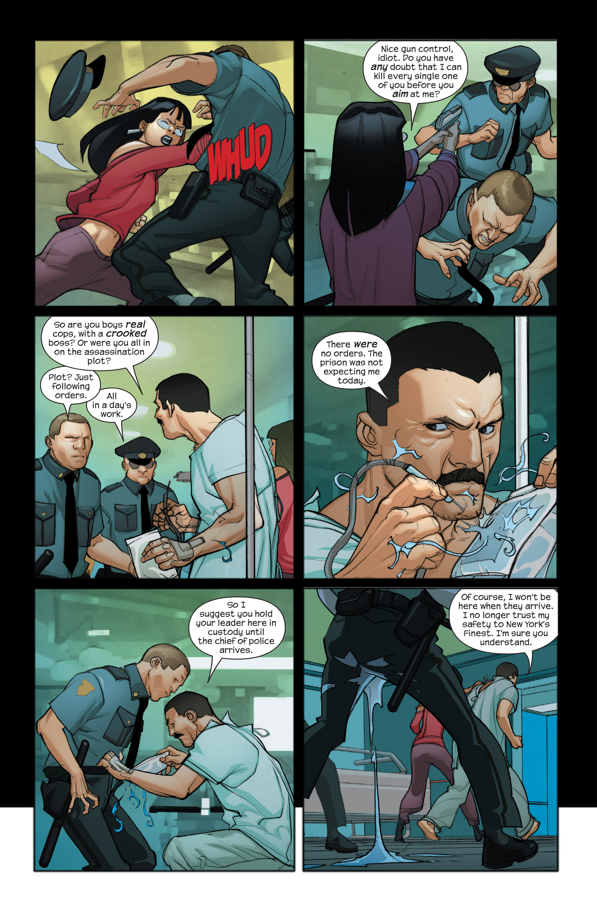 Read online Ultimate Iron Man II comic -  Issue #4 - 20
