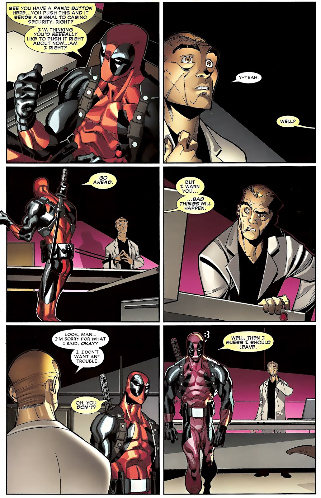 Read online Deadpool (2008) comic -  Issue #23 - 8