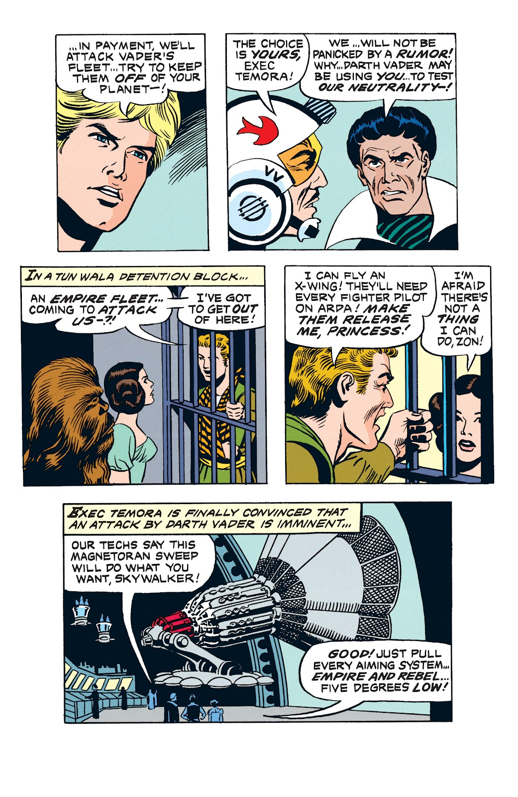 Read online Star Wars Legends: The Newspaper Strips - Epic Collection comic -  Issue # TPB (Part 3) - 49