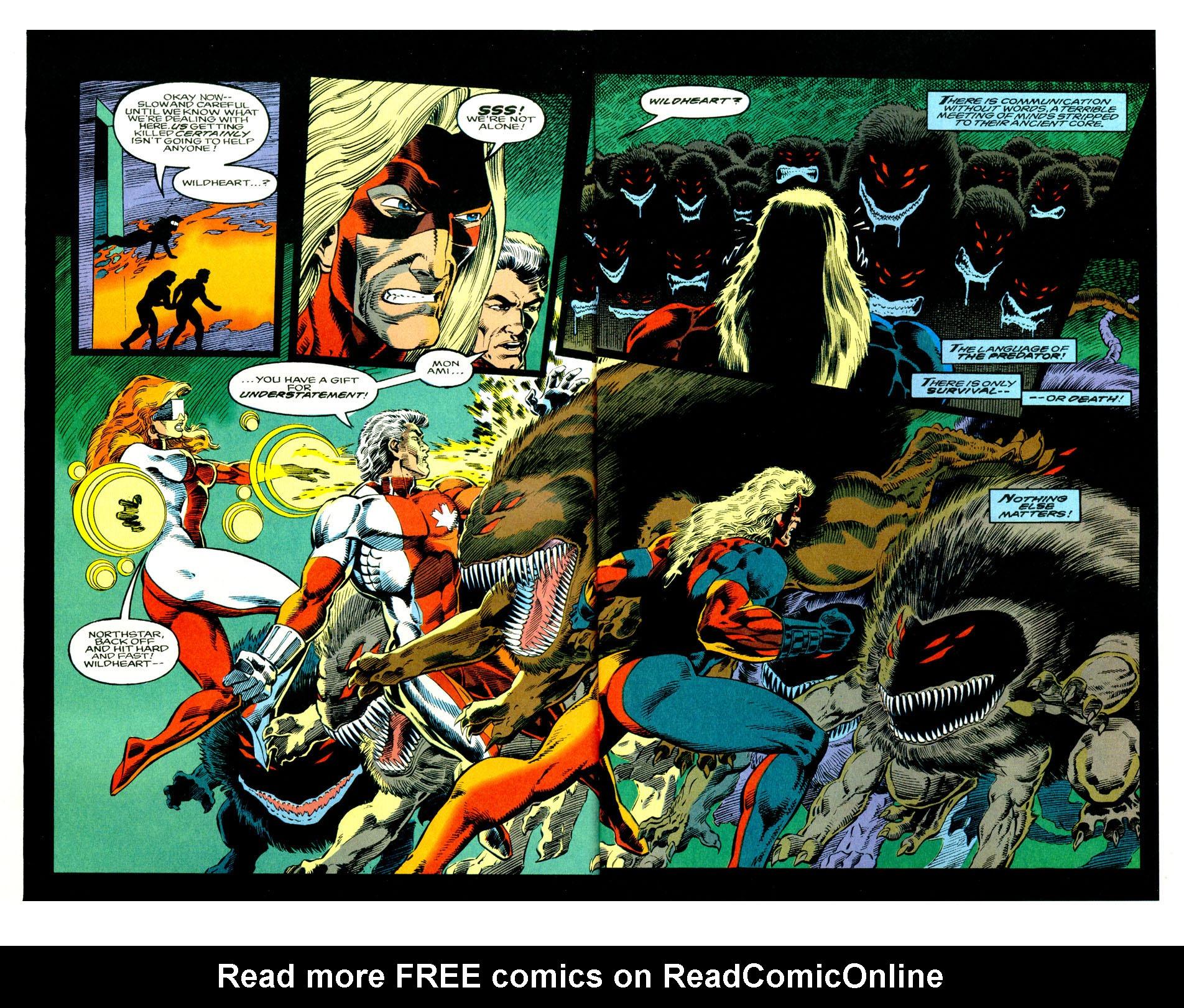 Read online Alpha Flight (1983) comic -  Issue #123 - 8