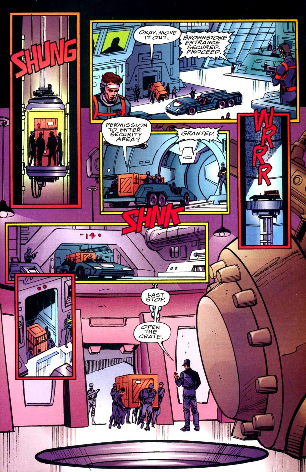 Read online Double Edge comic -  Issue # Issue Alpha - 7