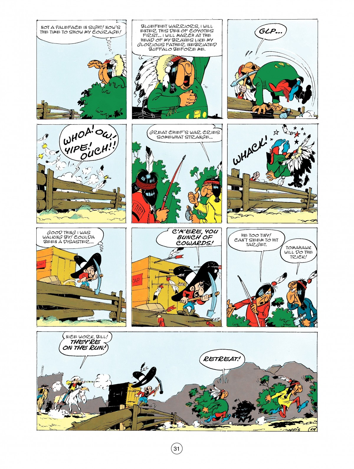 Read online A Lucky Luke Adventure comic -  Issue #43 - 31