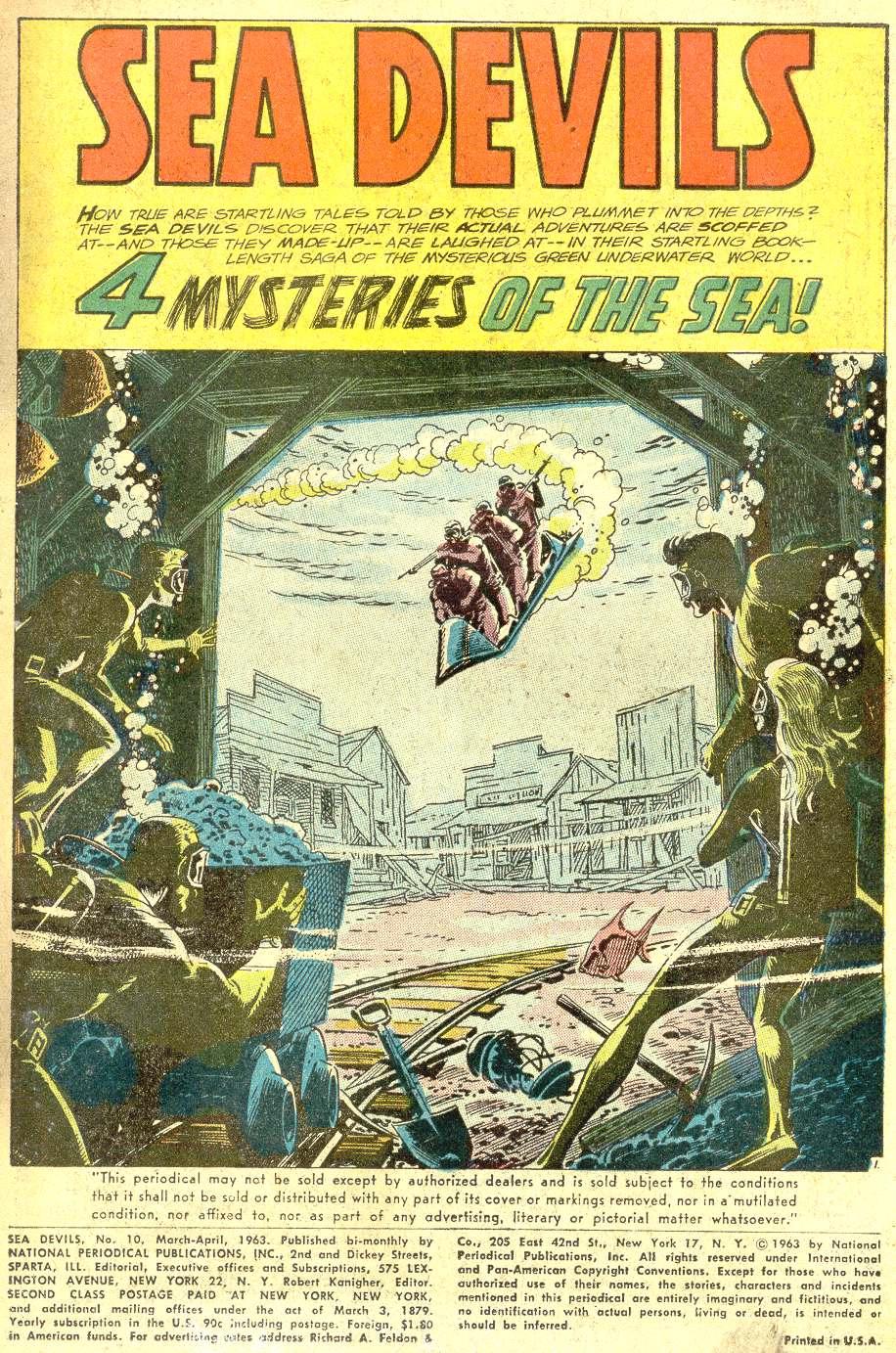 Read online Sea Devils comic -  Issue #10 - 4