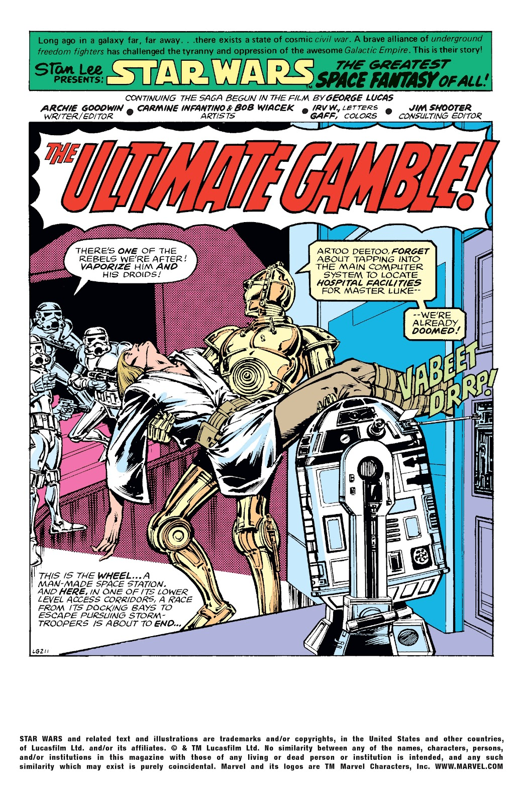 Read online Star Wars Legends: The Original Marvel Years - Epic Collection comic -  Issue # TPB 1 (Part 4) - 34