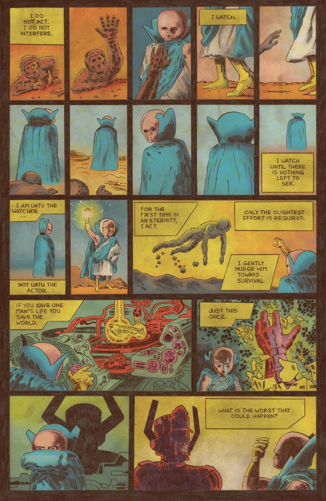 Read online Fantastic Four: Grand Design comic -  Issue #1 - 4
