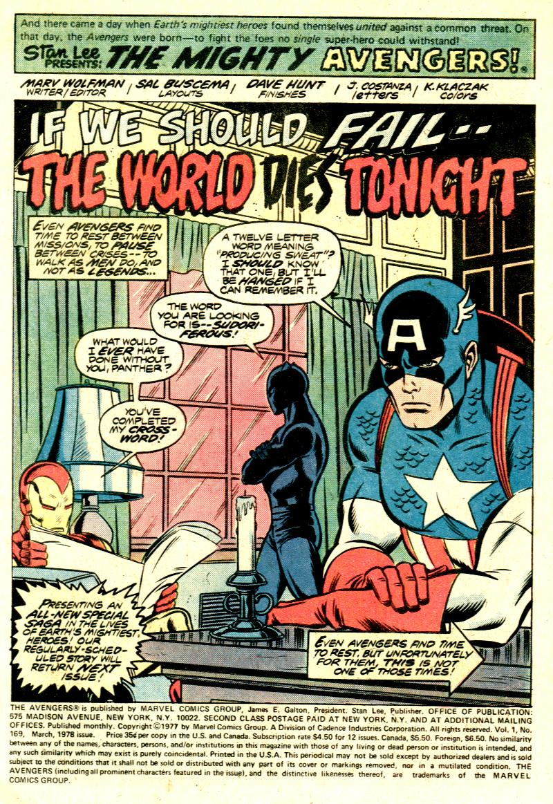 The Avengers (1963) 169 Page 1
