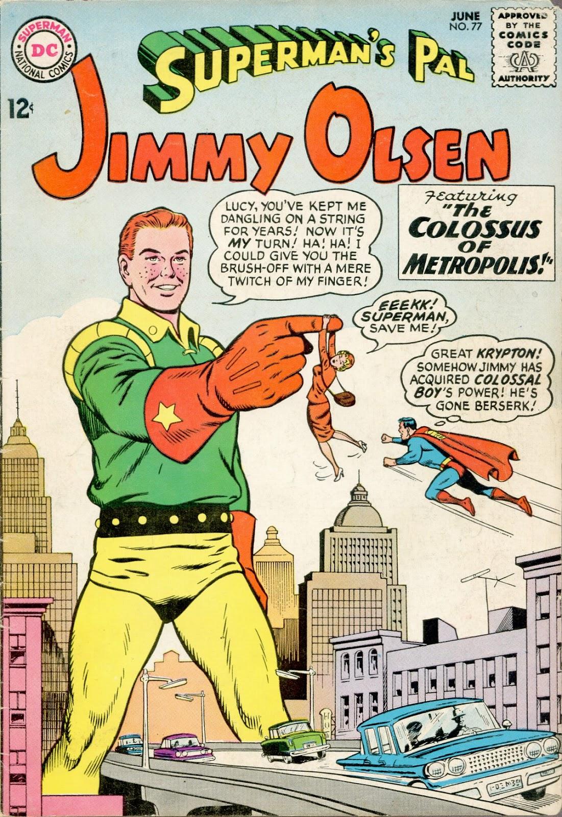 Supermans Pal Jimmy Olsen (1954) 77 Page 1