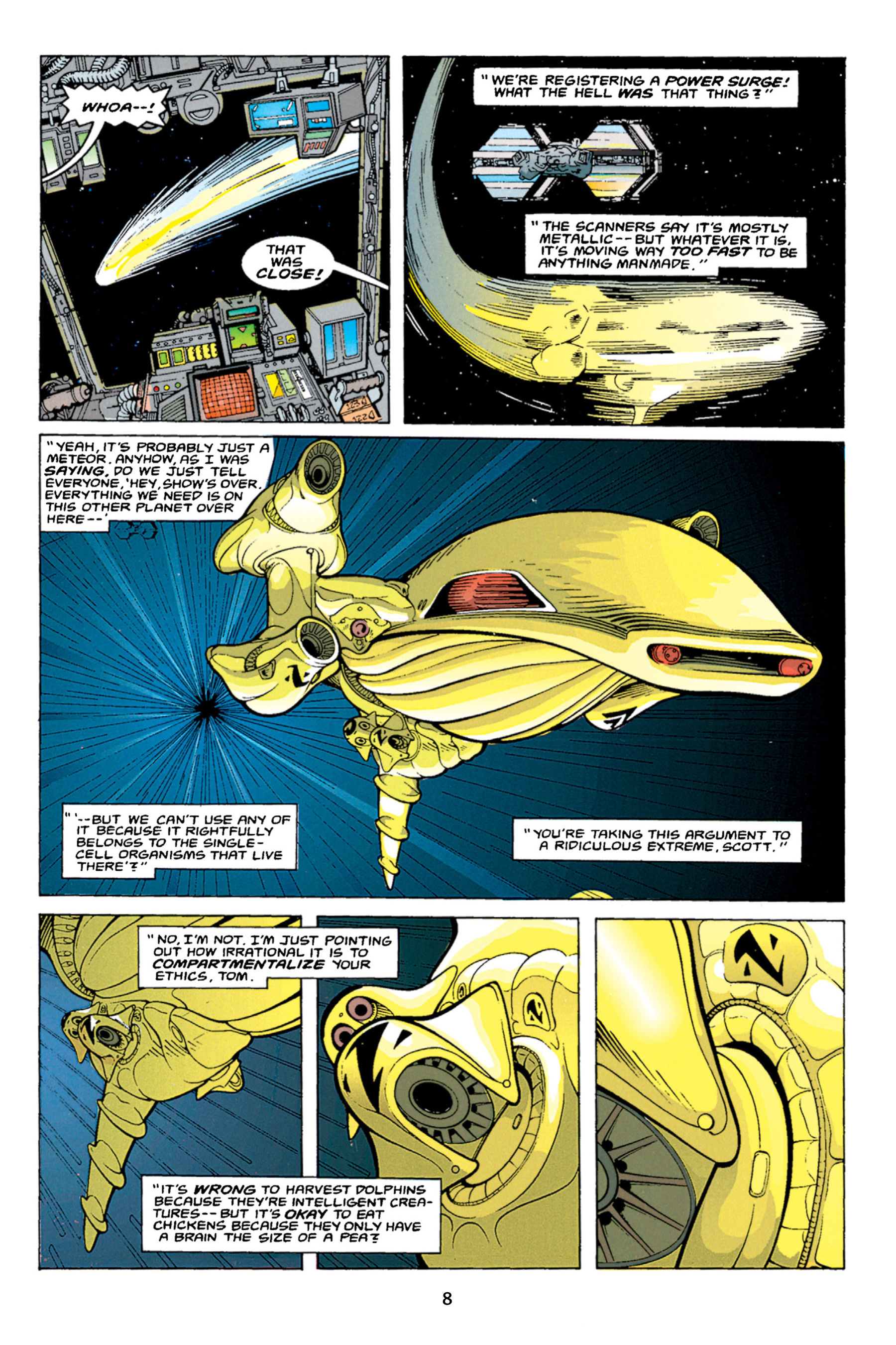 Read online Aliens vs. Predator Omnibus comic -  Issue # _TPB 1 Part 1 - 8