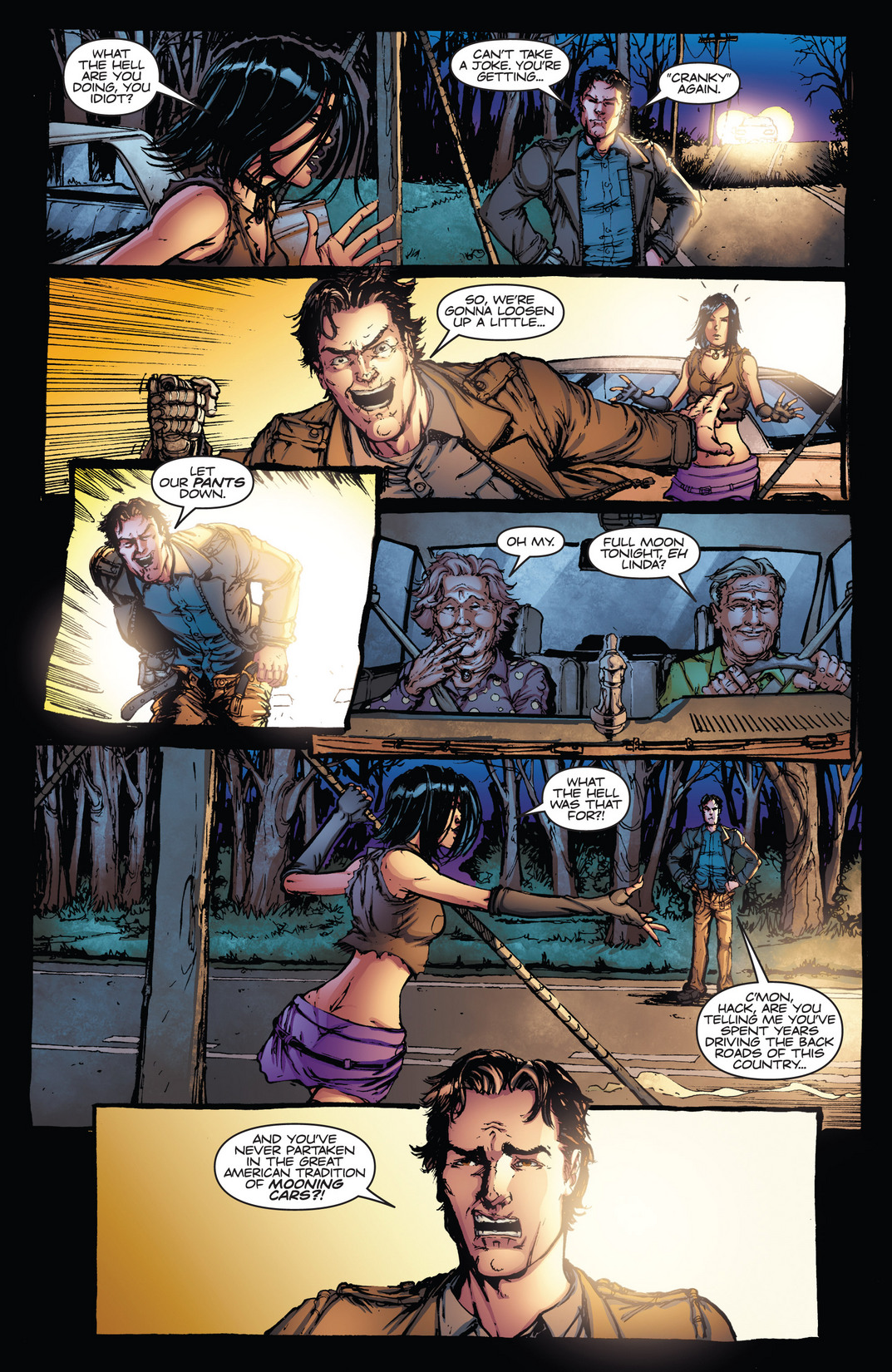 Read online Army of Darkness vs. Hack/Slash comic -  Issue #4 - 10