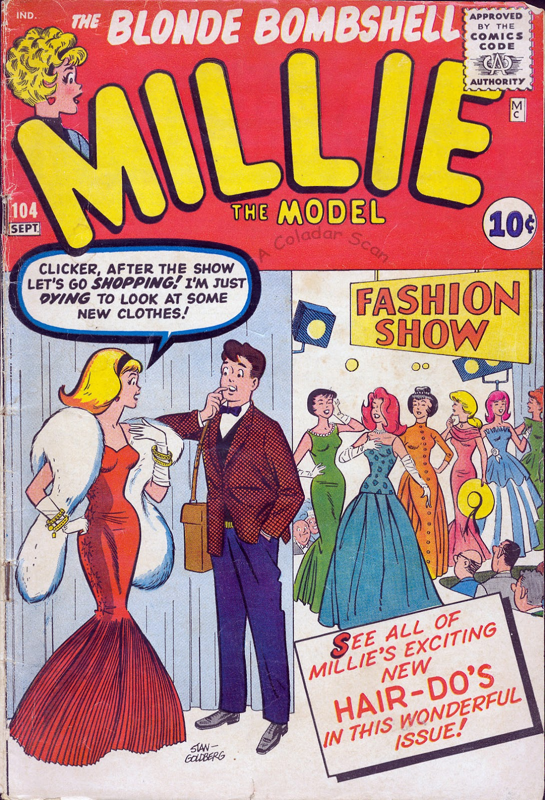 Millie the Model 104 Page 1