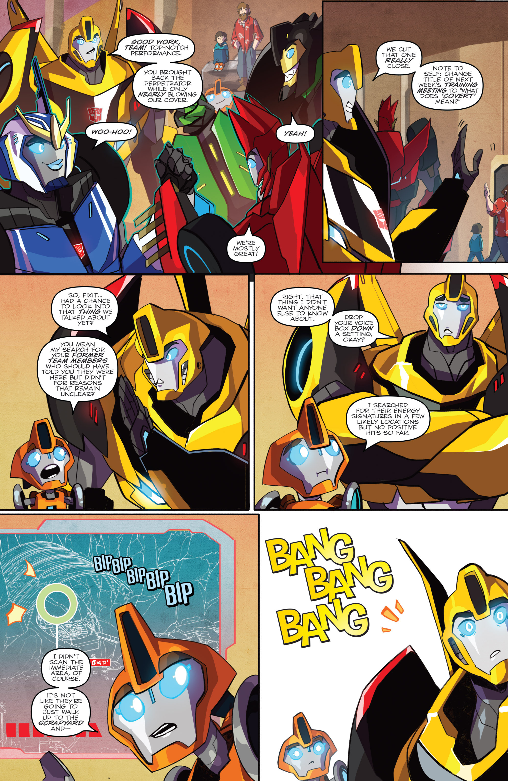 Read online Transformers: Robots In Disguise (2015) comic -  Issue #2 - 11
