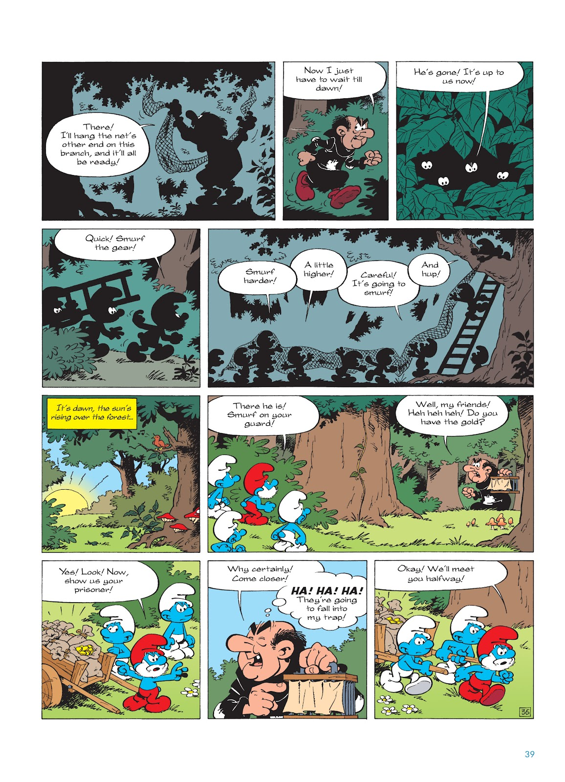 Read online The Smurfs comic -  Issue #18 - 39