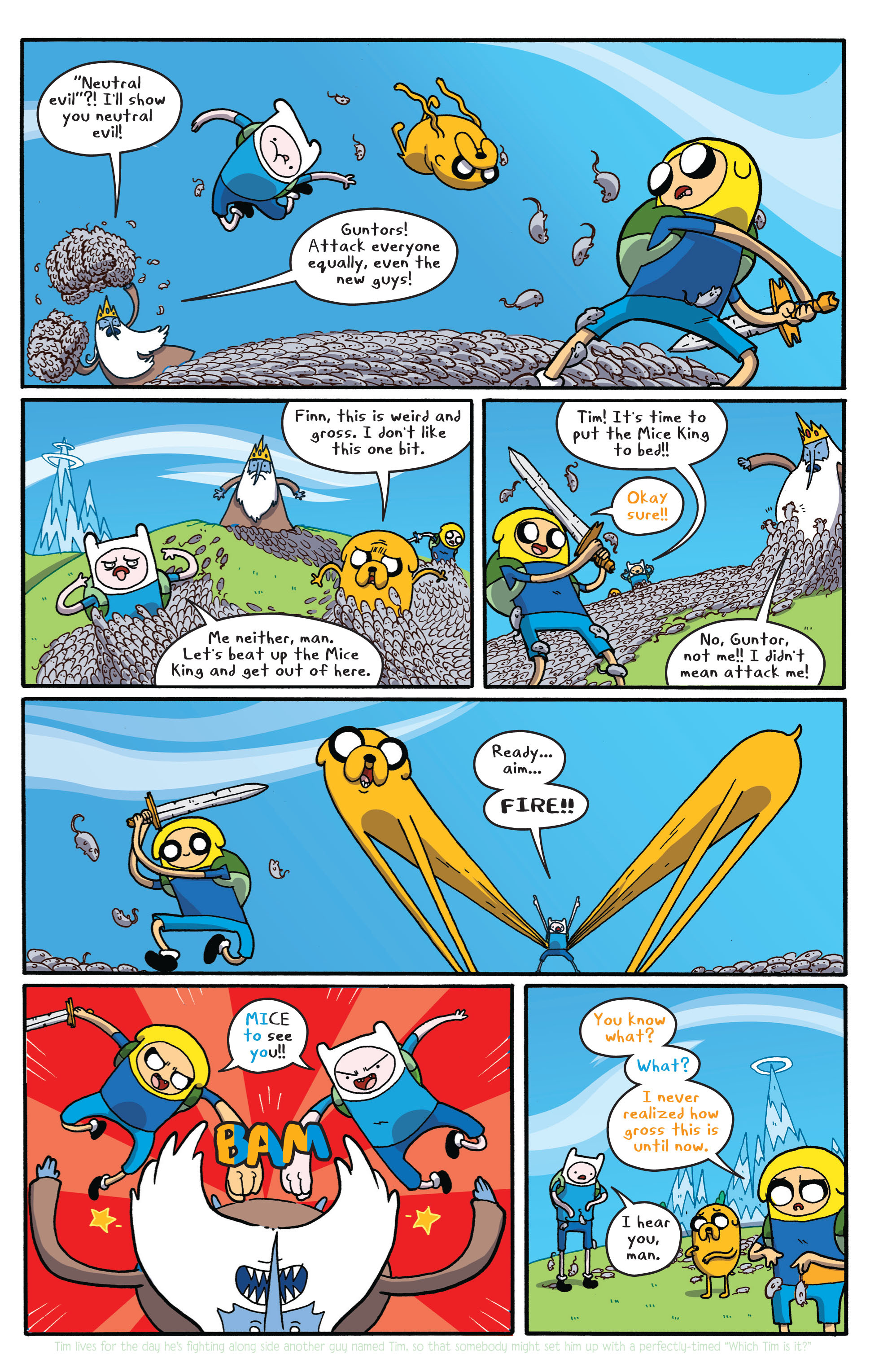 Read online Adventure Time comic -  Issue #5 - 20