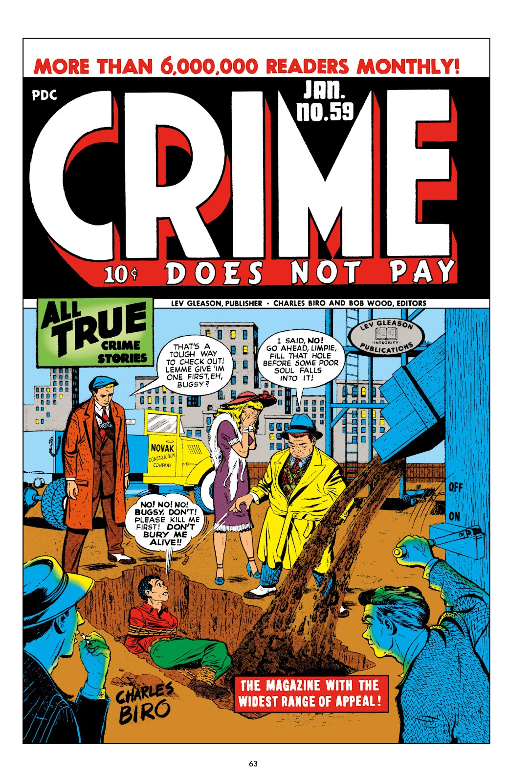 Read online Crime Does Not Pay Archives comic -  Issue # TPB 10 (Part 1) - 65