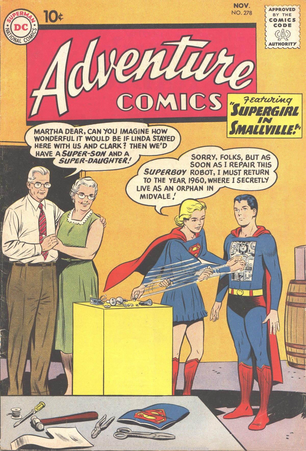 Read online Adventure Comics (1938) comic -  Issue #278 - 1