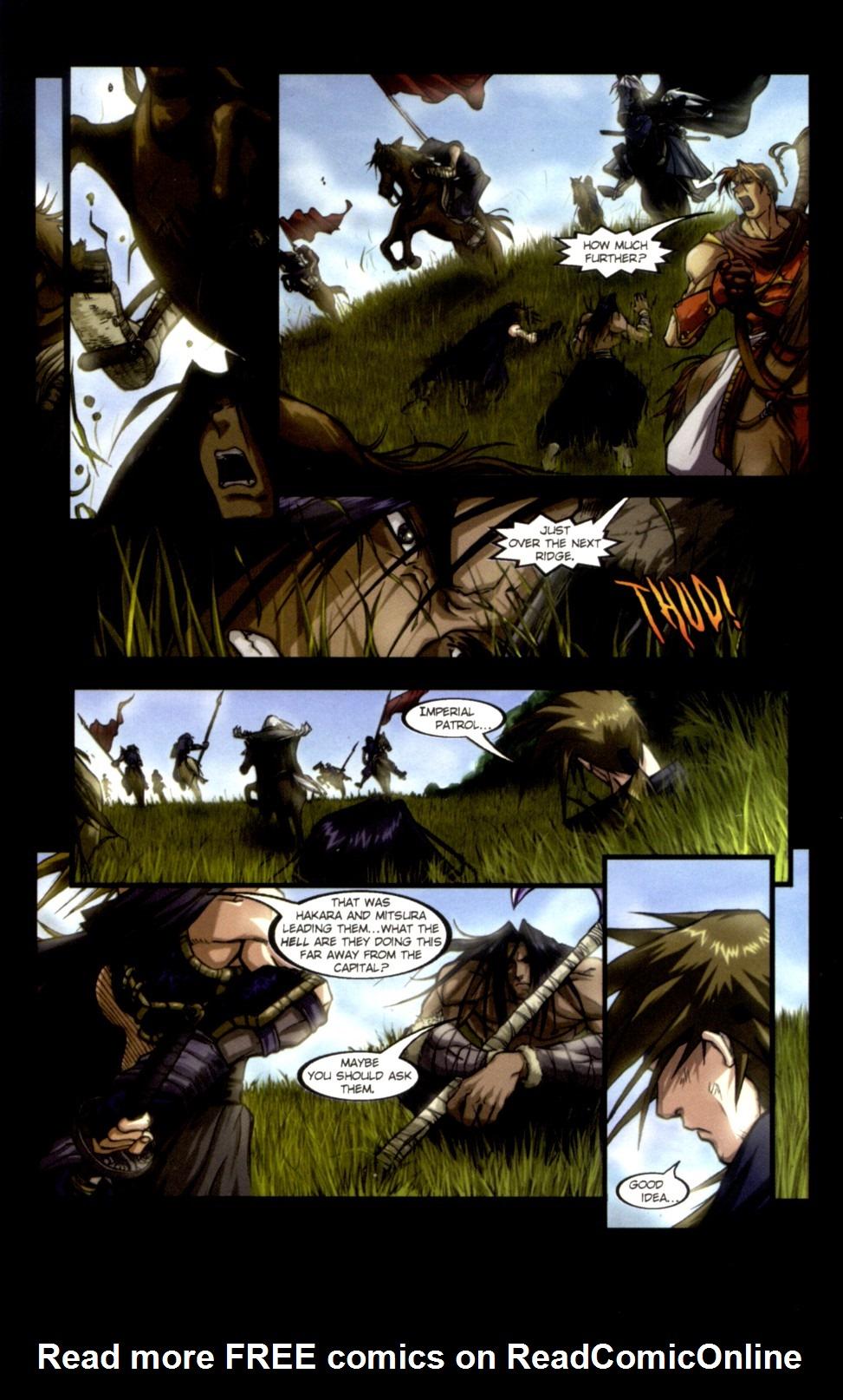 Read online Shidima comic -  Issue #1 - 7