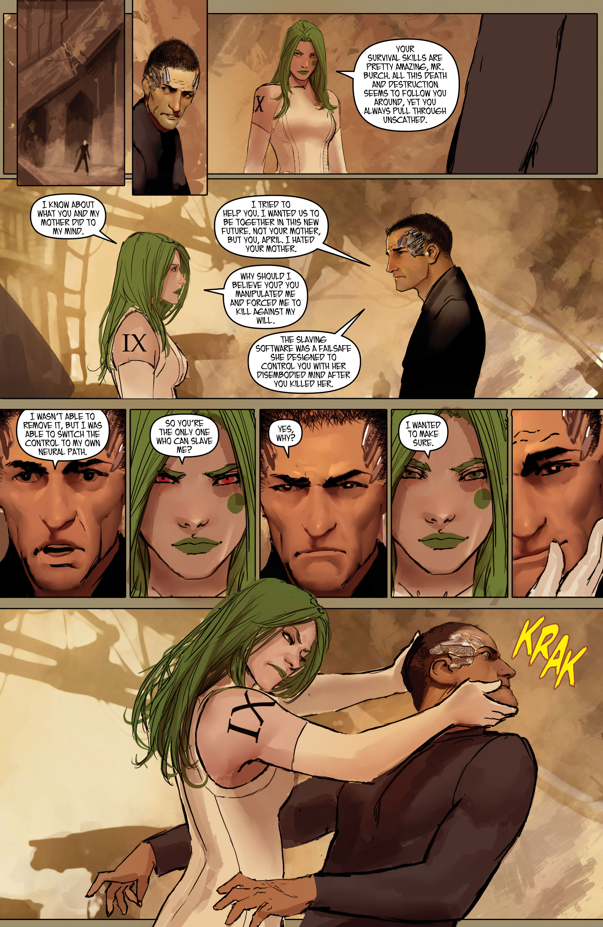 Read online Aphrodite IX (2013) comic -  Issue #Aphrodite IX (2013) _TPB 2 - 118