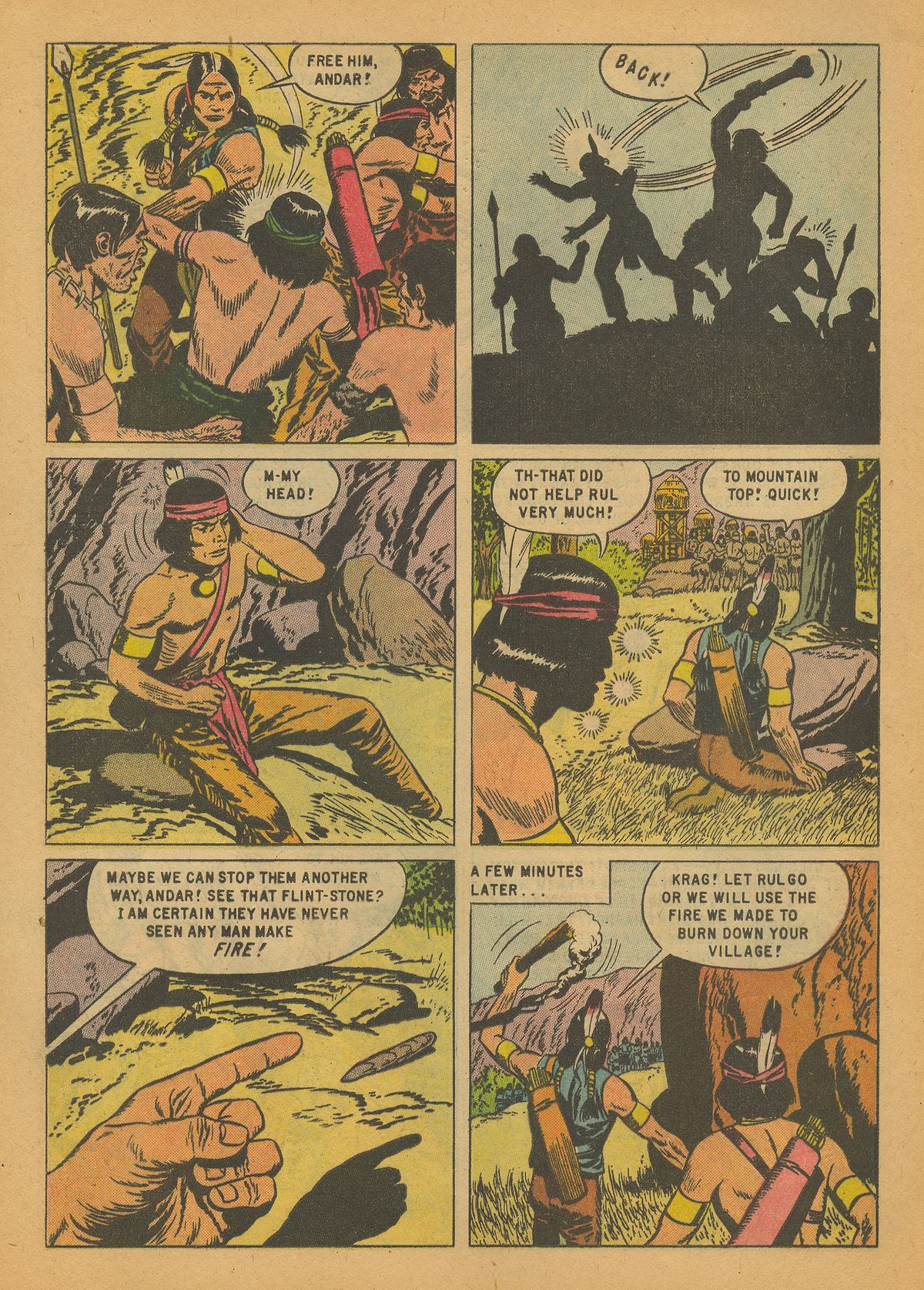 Read online Turok, Son of Stone comic -  Issue #14 - 8
