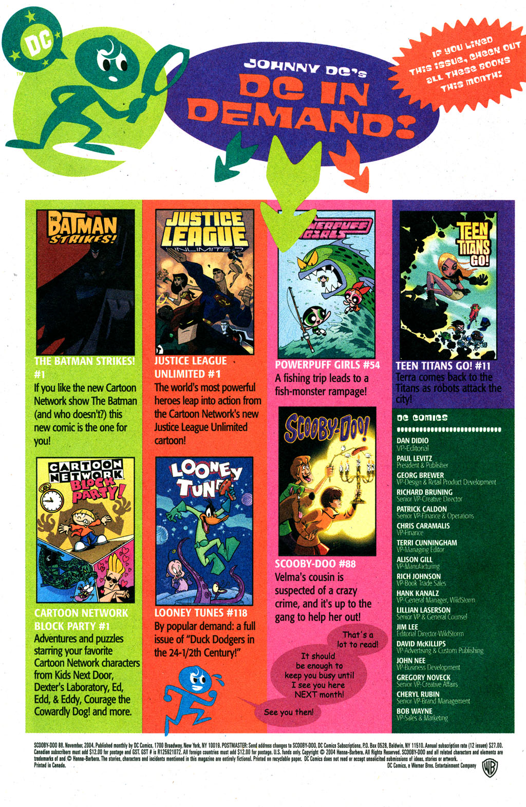 Read online Scooby-Doo (1997) comic -  Issue #88 - 23