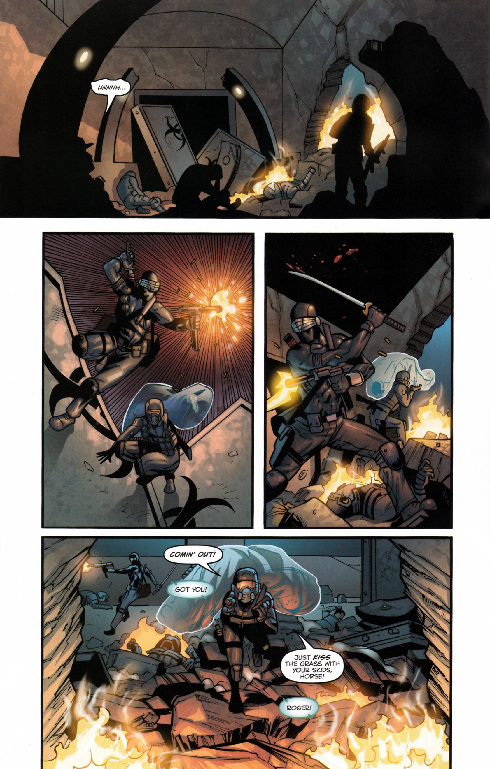 Read online G.I. Joe: Snake Eyes comic -  Issue #6 - 21