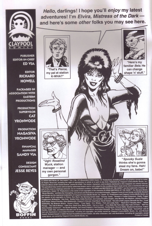 Read online Elvira, Mistress of the Dark comic -  Issue #127 - 2