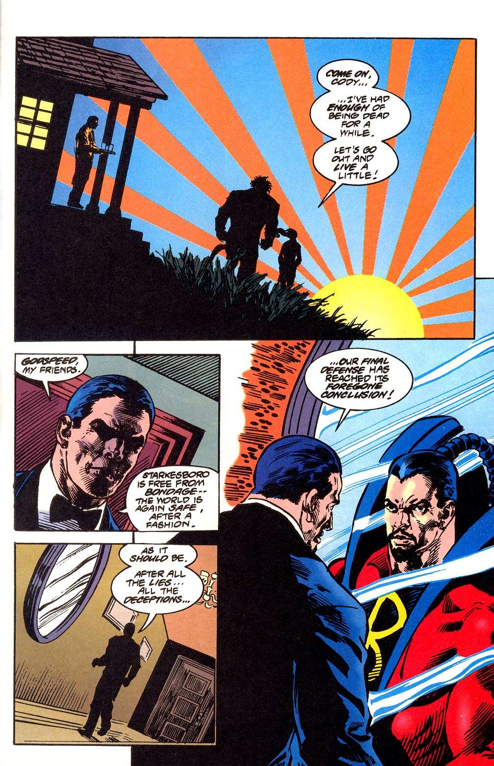 Read online Secret Defenders comic -  Issue #25 - 37