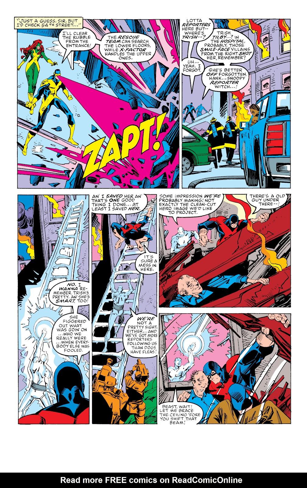 Read online X-Men Milestones: Fall of the Mutants comic -  Issue # TPB (Part 3) - 54