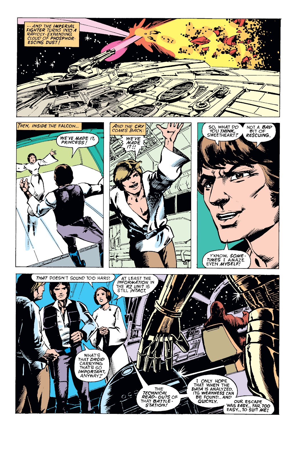Read online Star Wars Legends: The Original Marvel Years - Epic Collection comic -  Issue # TPB 1 (Part 1) - 87