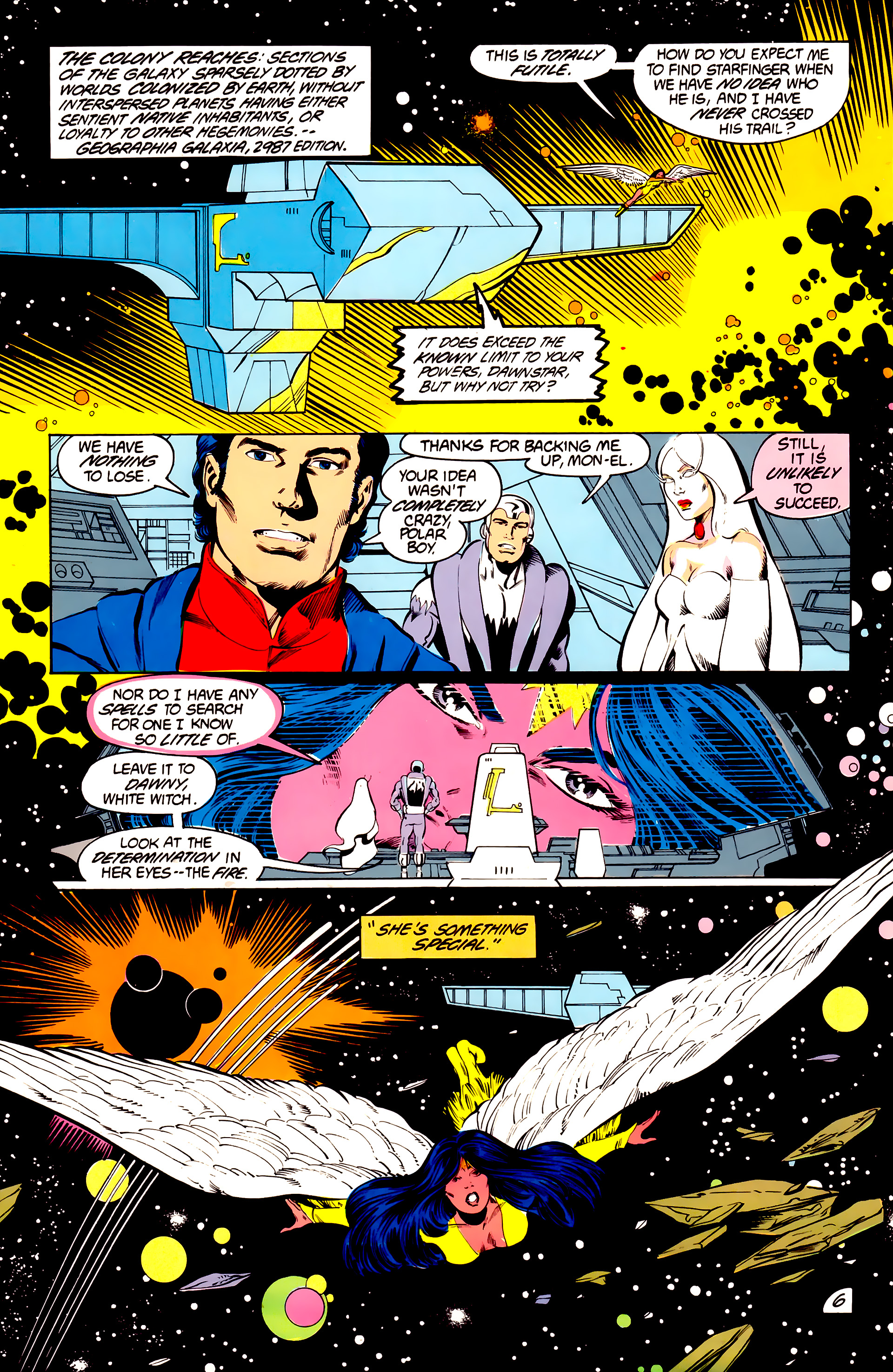 Legion of Super-Heroes (1984) 41 Page 6