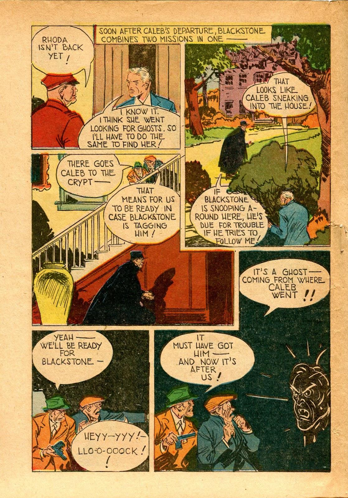 Read online Super-Magician Comics comic -  Issue #33 - 44