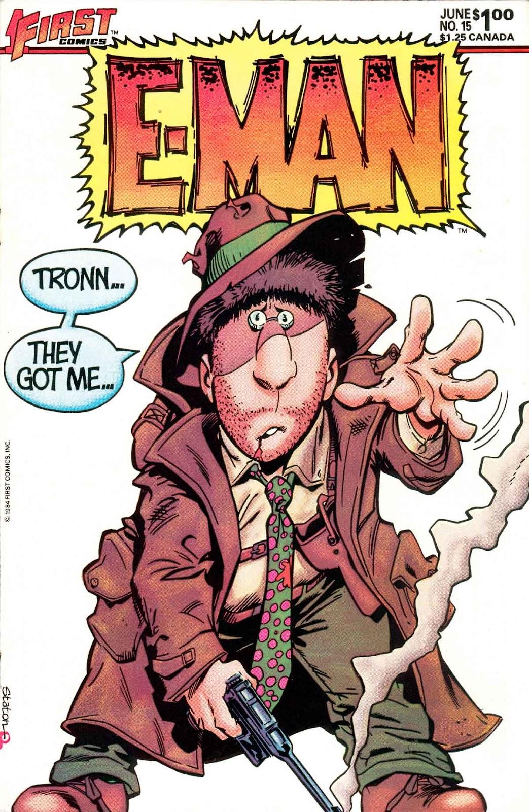 E-Man (1983) 15 Page 1