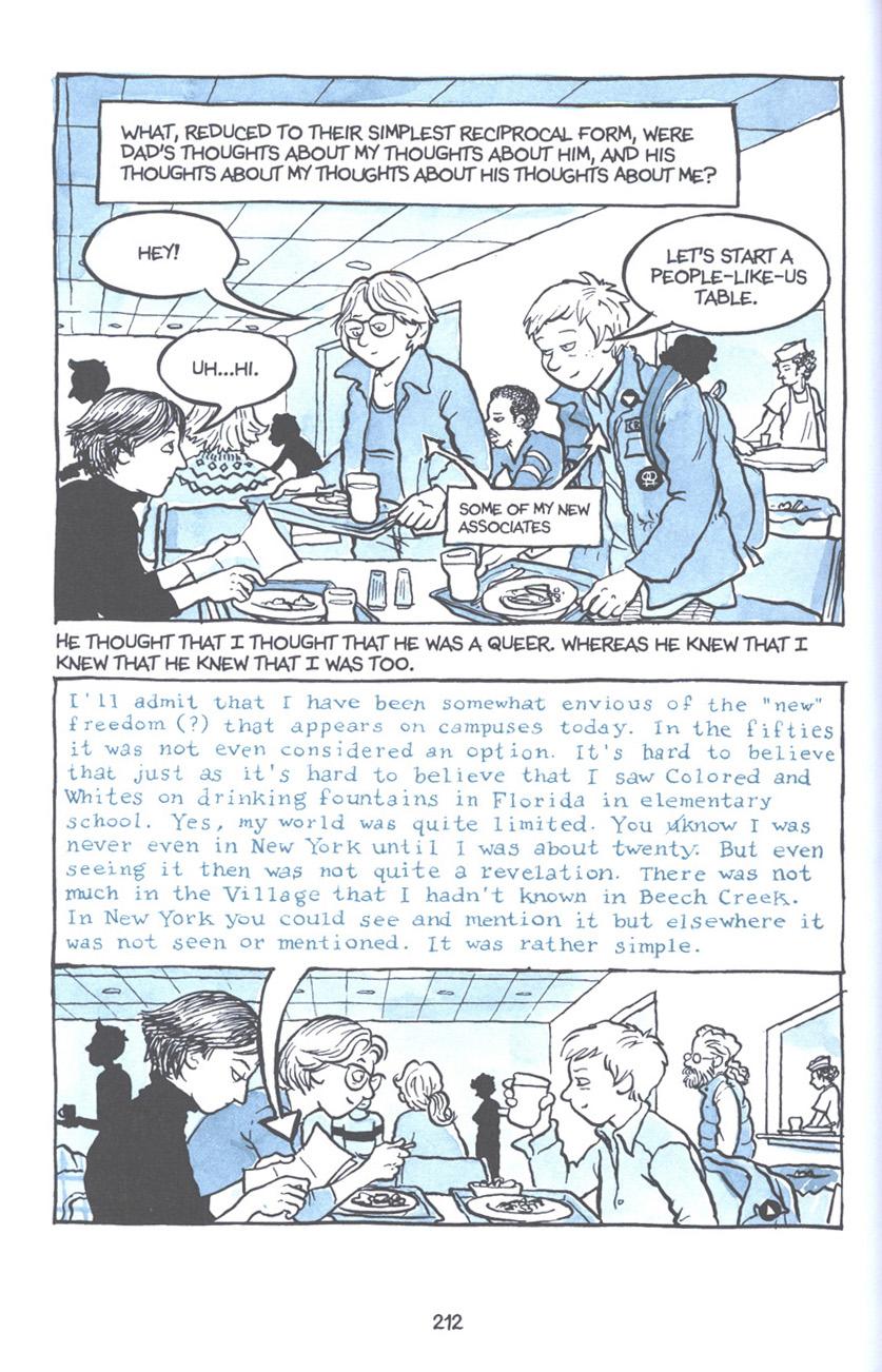 Read online Fun Home: A Family Tragicomic comic -  Issue # TPB - 218